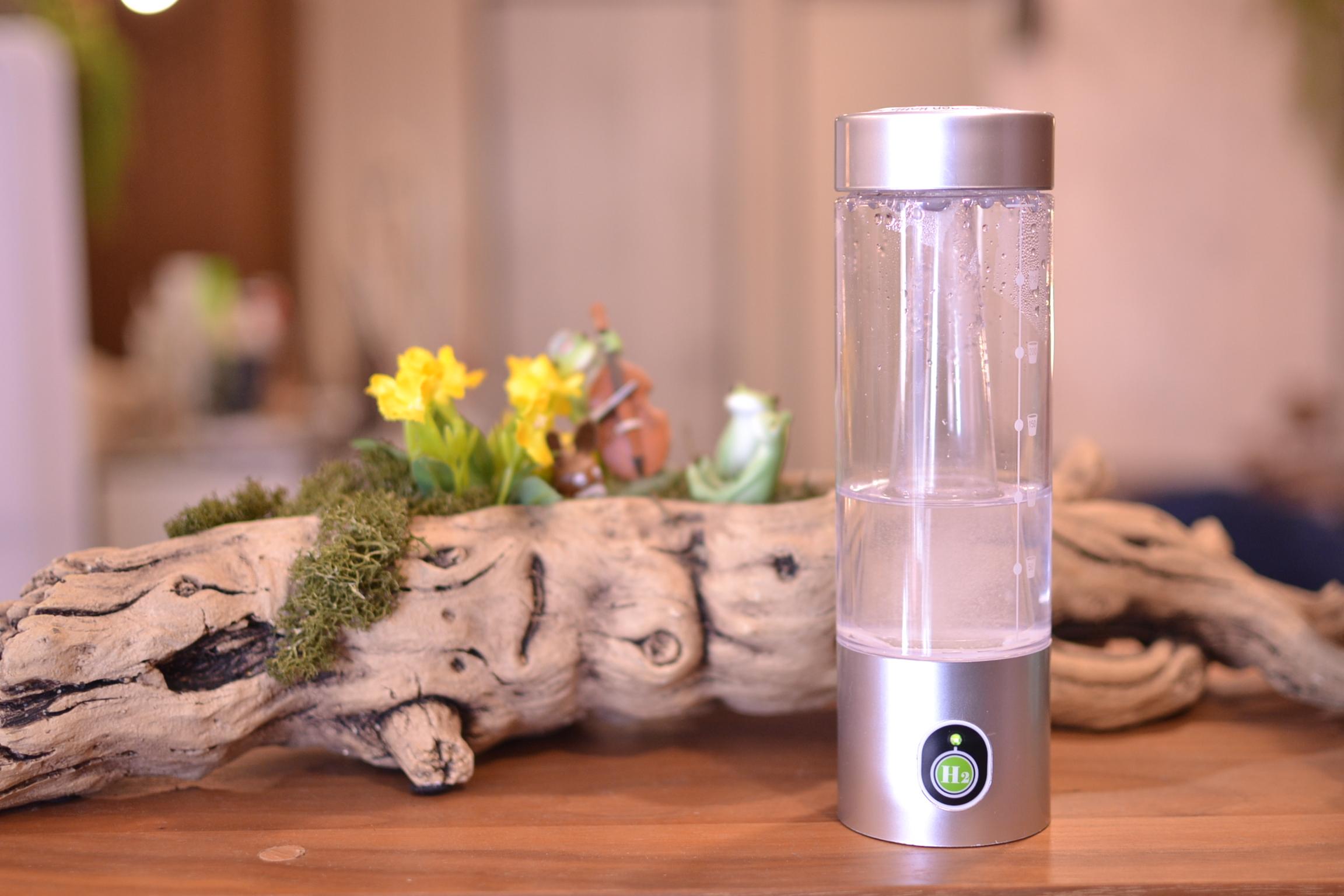 ダブル水素ボトル  吸うと飲む水素水